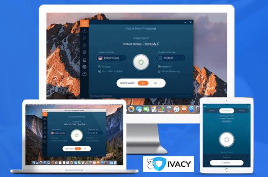 Ivacy VPN - Ilustračný obrázok