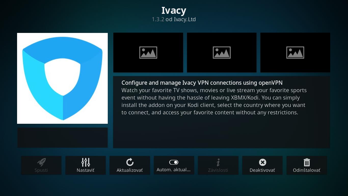 Ivacy VPN - KODI Addon