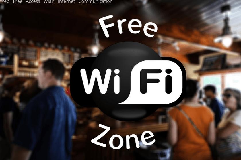 Free Wi-Fi zóna