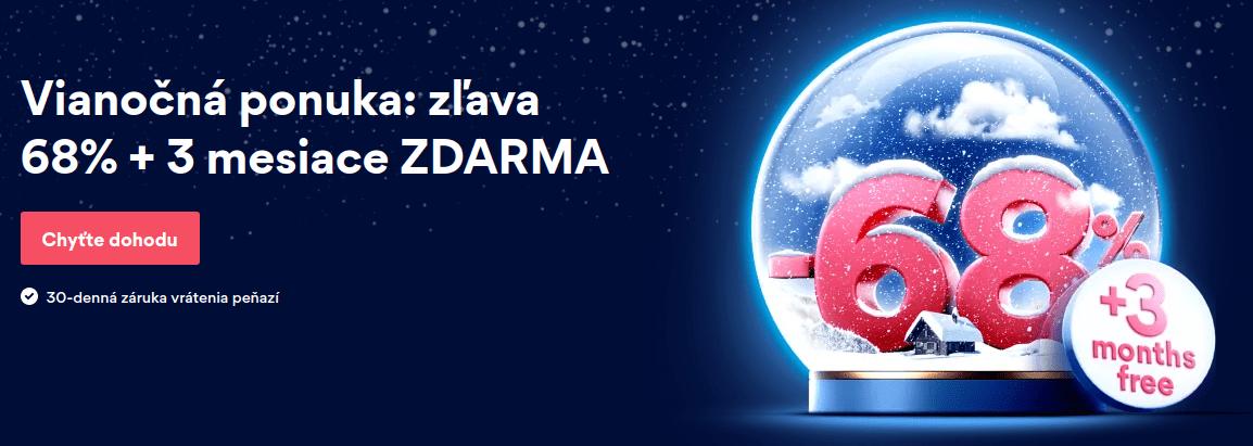 Nord VPN - Vianočná ponúka