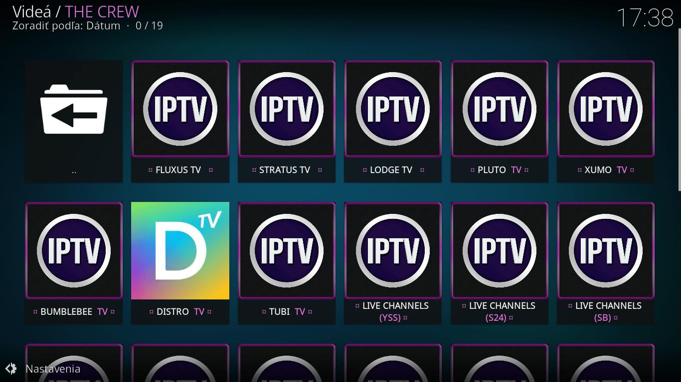 Crew - IPTV