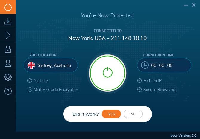 Ivacy pre Windows